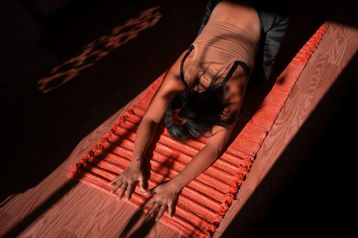 Practica Iyengar yoga